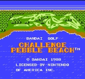 Bandai Golf Challenge Pebble Beach