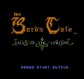 Bard s Tale : Tales of the Unknown