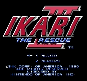 Ikari Warriors 3 : The Rescue