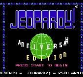 Jeopardy 25th Silver Anniversary Edition
