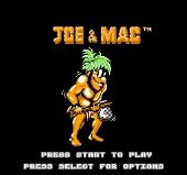 Joe and Mac : Caveman Ninja
