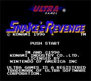 Metal Gear : Snake s Revenge