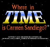 Where in Time Carmen Sandiego