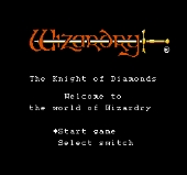 Wizardy : Knight of Diamonds